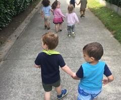 Samen op wandel!